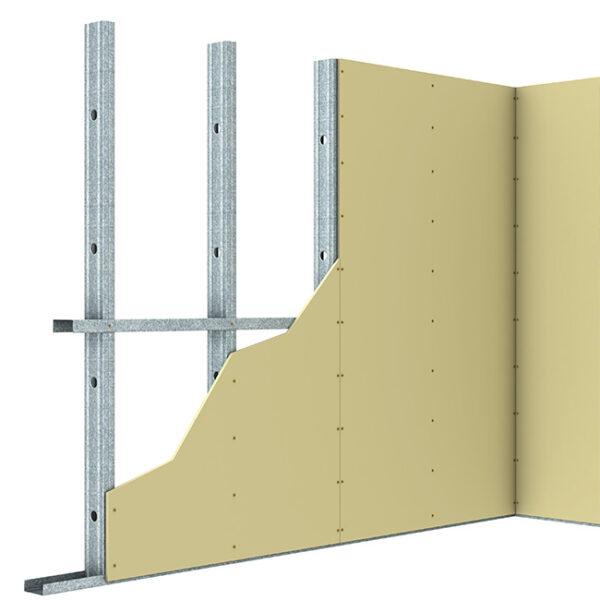STEEL STUD & TRACK WALL FRAMING SYSTEM