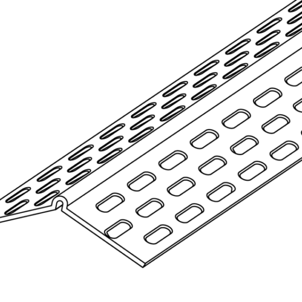 135º Splayed Corner Bead Trim-Tex