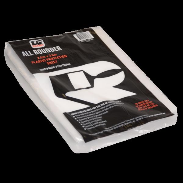 Drop Sheet Plastic Economy 2.6m x 3.6m WBT